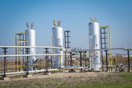 Gas storage and pipeline photo
