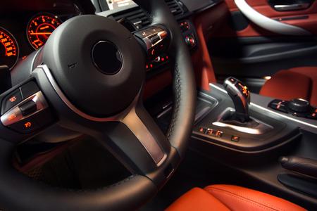 Modern car interior Imagens - 26521488