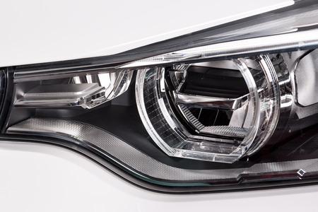 head light: Luz principal del coche Foto de archivo