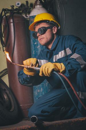 Welding work photo