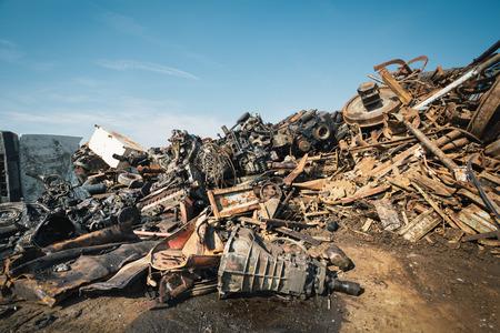 Scrap metals photo