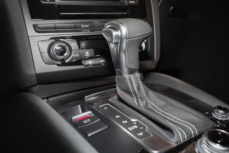car transmission: Automatic car transmission Stock Photo