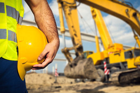Construction worker Stockfoto