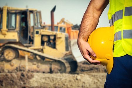 Construction worker Standard-Bild