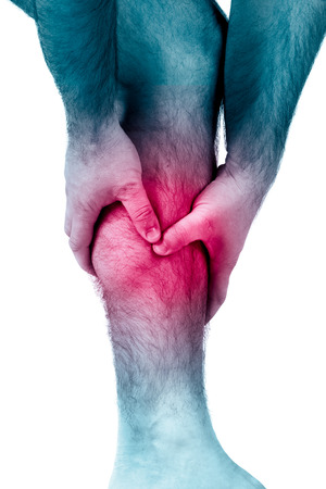 calf pain: Calf leg pain