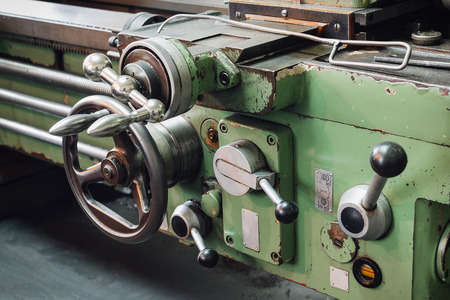 automated tooling: Part of the lathe