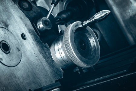 lathe: Part of the lathe
