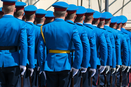 soldiers: Soldiers in army Parade
