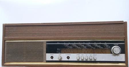 former yugoslavia: A good old radio from the former Yugoslavia