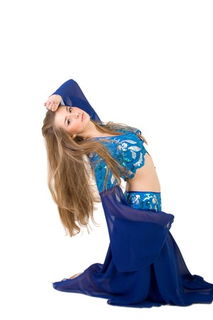 Belly dancing photo