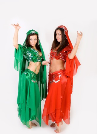 turkish woman: Belly dancing