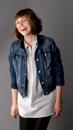 Woman posing in studio  Stock Photo - 7212236