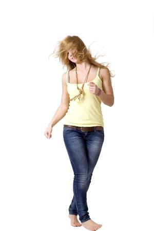 Joyful girl photo