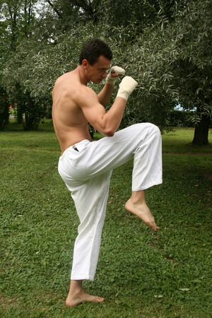 Fighting man  photo