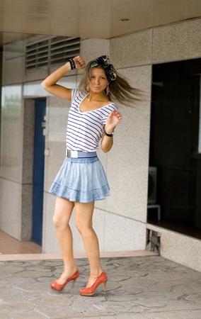 Portait of a pretty girl Stock Photo - 10081798