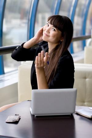 Businesswoman at work Stock Photo - 10142615