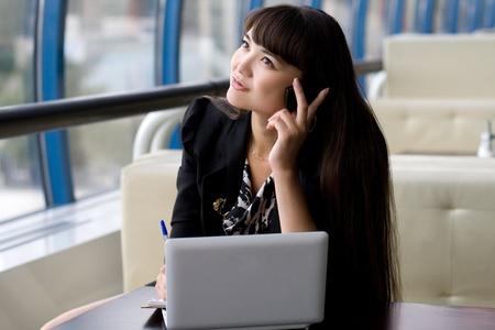 Businesswoman at work Stock Photo - 10423057