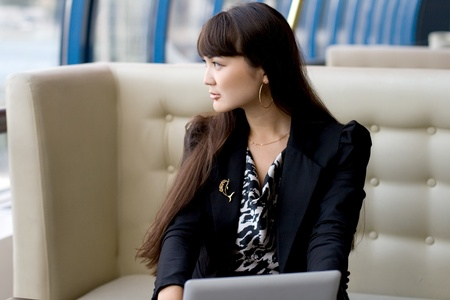 Businesswoman at work Stock Photo - 10609013
