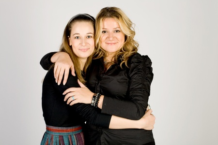 Two female friends Stock Photo - 11245966