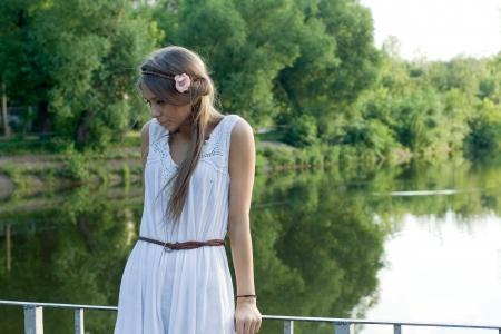 gente triste: Retrato de una muchacha bonita