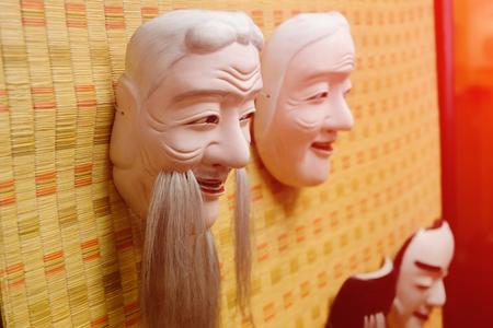 papiermache: Chinese Opera Mask Stock Photo