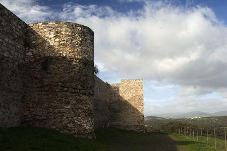 �rabe: Castillo Foto de archivo