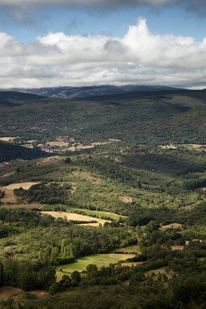 breadth: Summer landscape in northern Spain