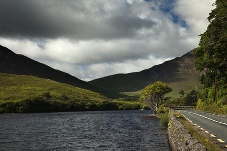 connemara: Connemara National Park, Galway county, Ireland, Eire.