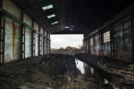 Abandoned mines of Tharsis - Huelva - Spain