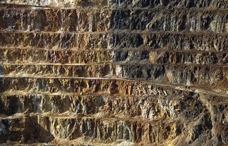Copper mine open pit Atalaya Rio Tinto (Spain) photo
