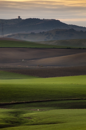 breadth: Andalucia lights in rural landscapes and agricultural