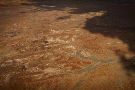 Kati Thanda-Lake Eyre Salt Flats outback South Australia aerial photography in summer