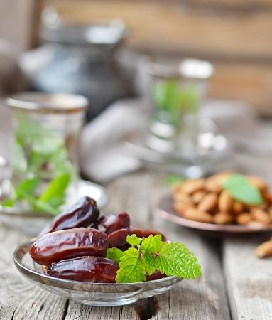 棕榈日期,斋月食品也被称为库玛