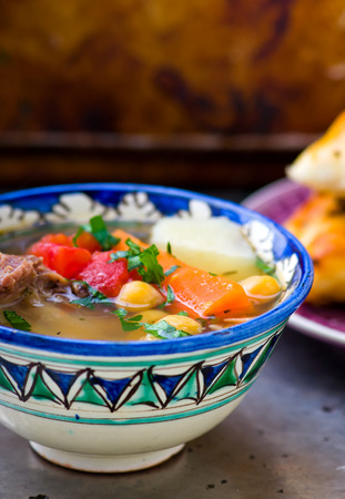cuisines: chorba, soup or stew found in national cuisines across Eastern Europe, Central Asia, and the Middle East
