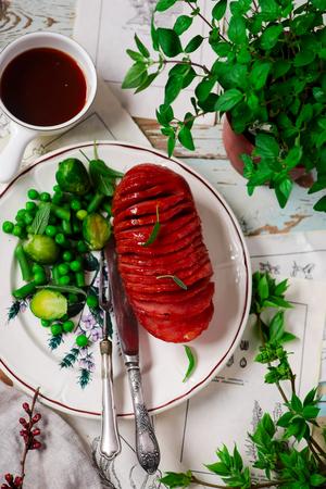 Honey-Glazed Ham for Easter