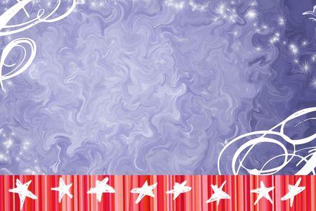 americana: Independence Day Background Stock Photo