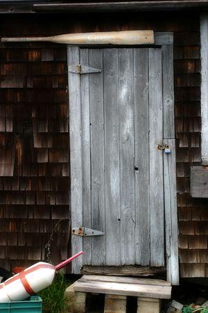 shack: Fishermans Shack Door