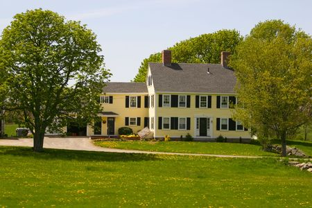 a historic style farmhouse Reklamní fotografie