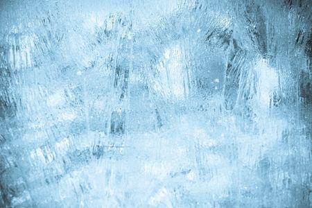 Background texture of blue ice Reklamní fotografie