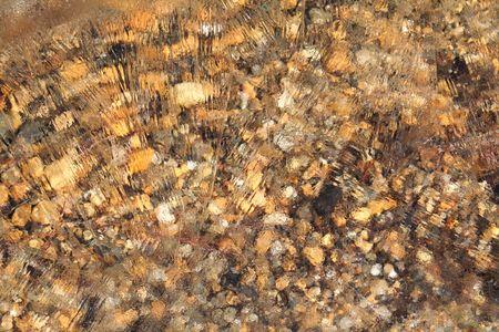 Lake pebbles under ice Reklamní fotografie