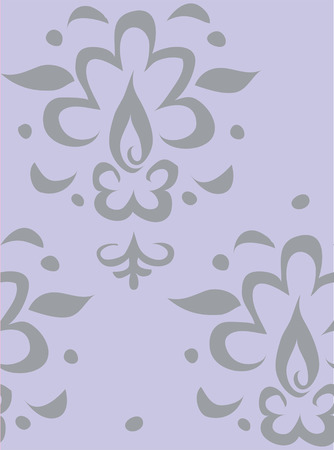 Damask pattern illustration