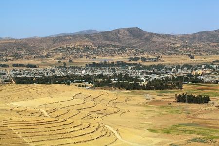 ethiopian: Ethiopian Highlands Stock Photo