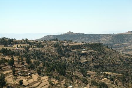 ethiopian: Ethiopian Mountains Stock Photo