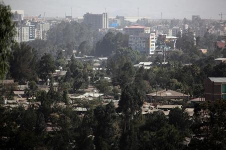 addis: Addis Ababa, city view