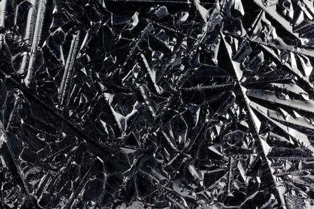 silicon: La superficie de los cristales de silicio puro para el uso industrial.