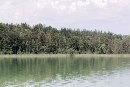 The Ostersee in the Ostersee area in Bavaria, Southern Germany.