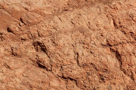 The surface of a laterite soil in Africa.