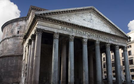 The Pantheon is one of the great spiritual buildings of the world. It was built as a Roman temple and later consecrated as a Catholic church.