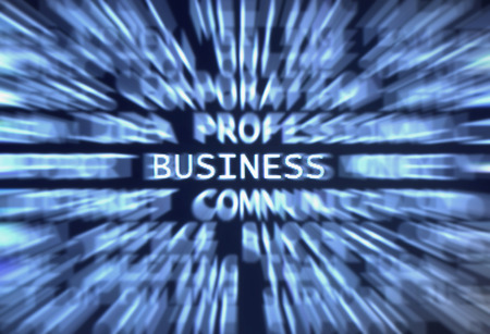 computering: Business word shown in a business words mix background
