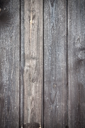 Texture of a grey wood board with a soft vignetted. photo